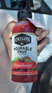 Pourable Fruit fruit purees are delicious in smoothies and more.