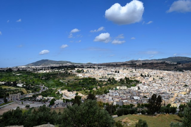 The ancient city of Fez.