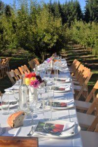 An elegant Gala Berry Dinner kicks off the festival.