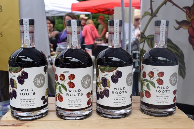 Wild Roots Vodkas contain a pound of fresh berries in each bottle.