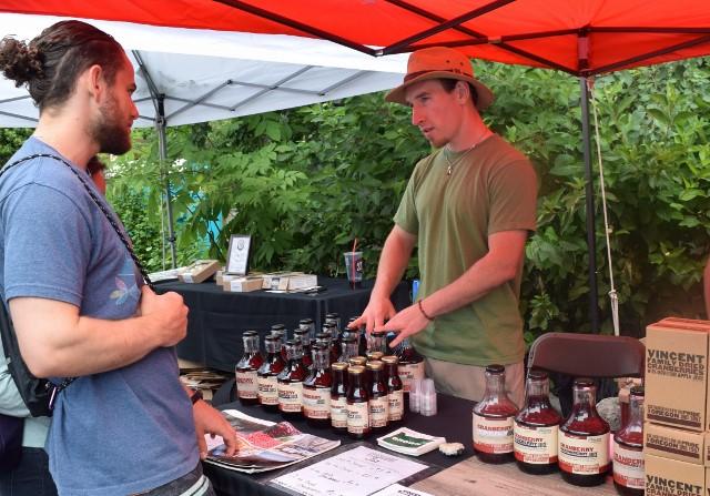Vincent Family Cranberries makes juices have less sugar, more cranberries.