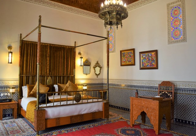 One of the Riad El Amine Fes' suites.