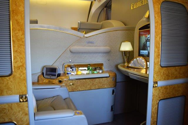 Emirates Air first class