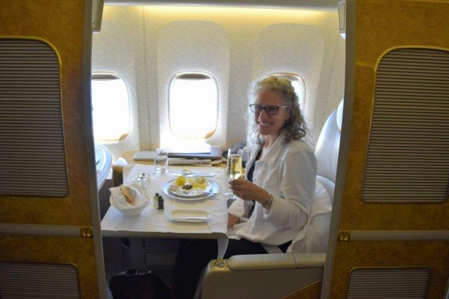 Emirates Air First Class suite