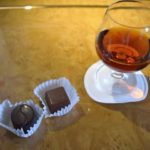 Hennessy Paradis and Godiva chocolates.
