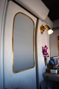 "The doors to First class ""suites"" close for privacy."