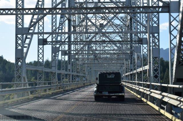Crossing Bridge of the Gods.