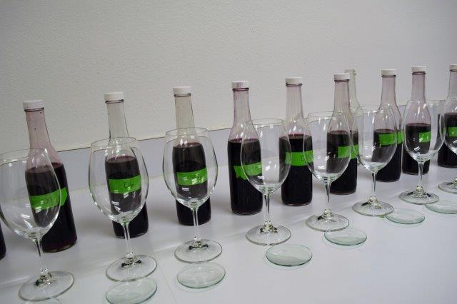 Winery lab work also includes exploring flavors, aromas and colors winemakers want to see in their wines.