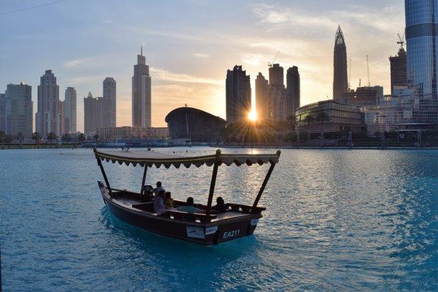 Lake Burj Khalifa