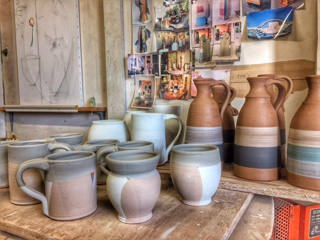 dipped-pottery