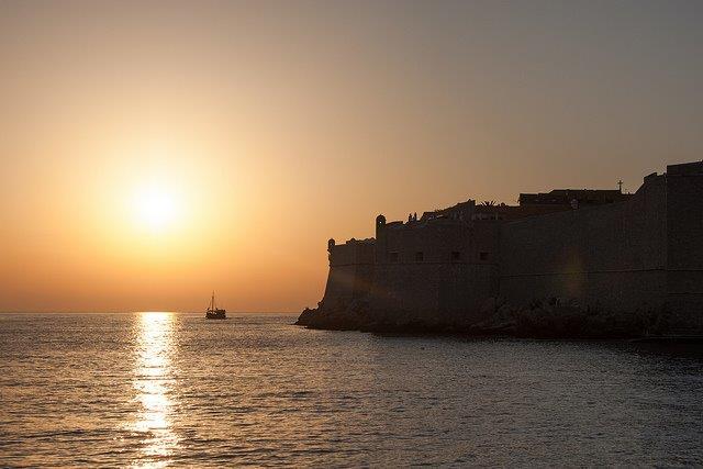 Dubrovnik Sunset, James Laing