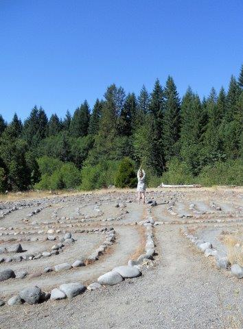 breitenbush labyrinth