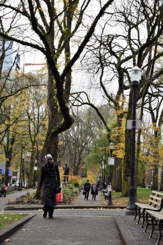Portland Park Blocks