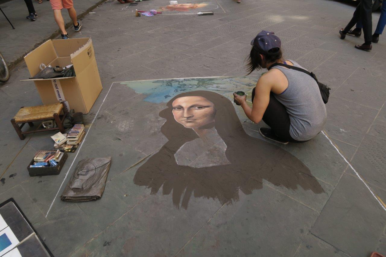 visiting rome street art