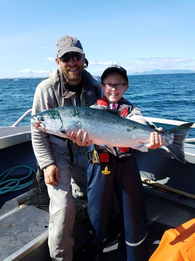 chinook salmon milbanke sound