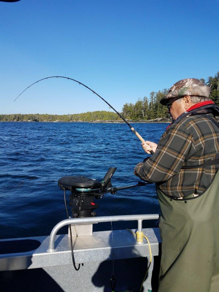 salmon milbanke sound