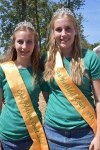 Aumsville Corn Festival Princesses