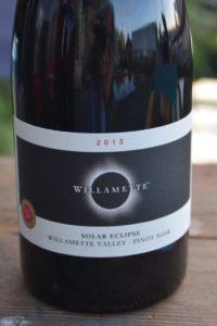 Willamette Valley Vineyard Solar Eclipse Pinot Noir