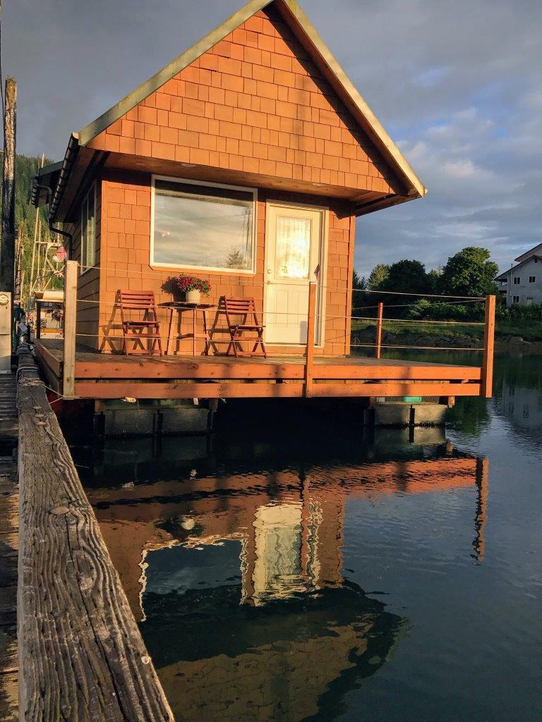 wrangell alaska dockside floathouse