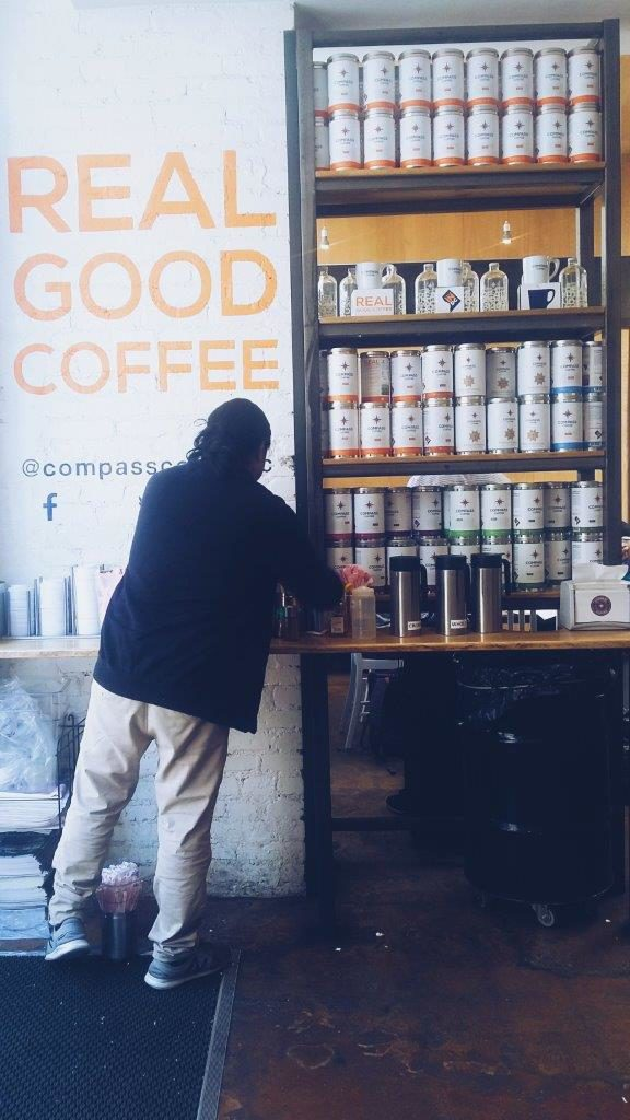 compass coffee