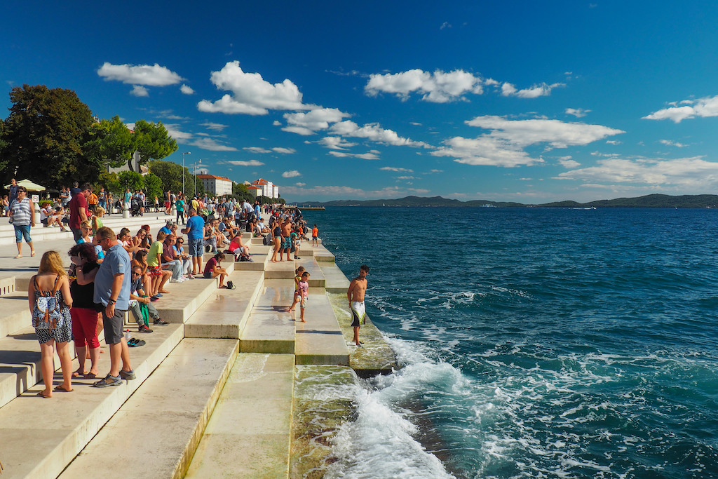 sea organ Zadar