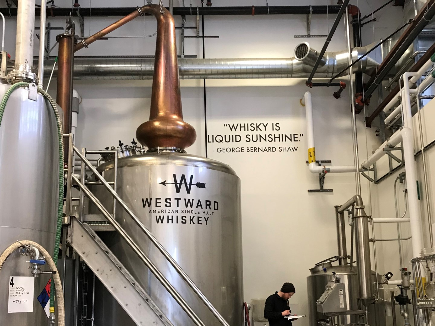 House Spirits distillery tour