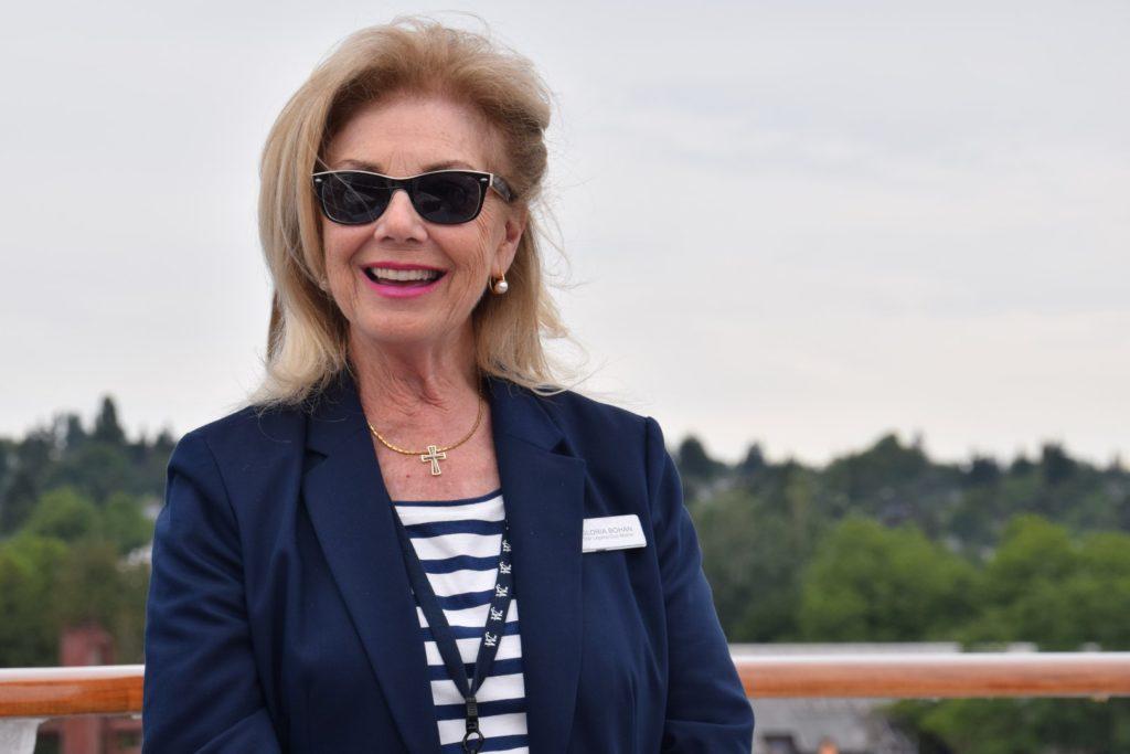 Gloria Bohan Windstar Cruises