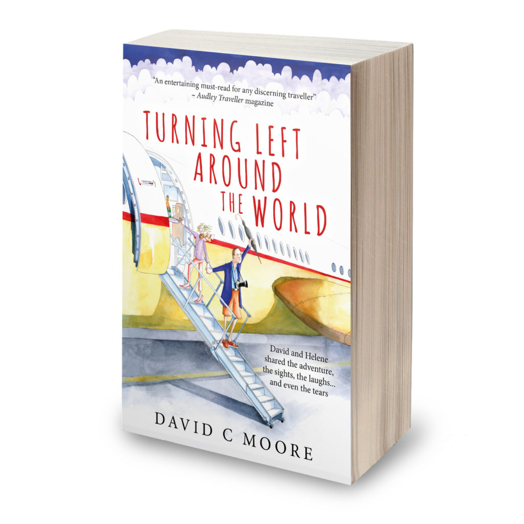 Turning Left Around the World, by David C. Moore Turning Left Around the World, by David C. Moore