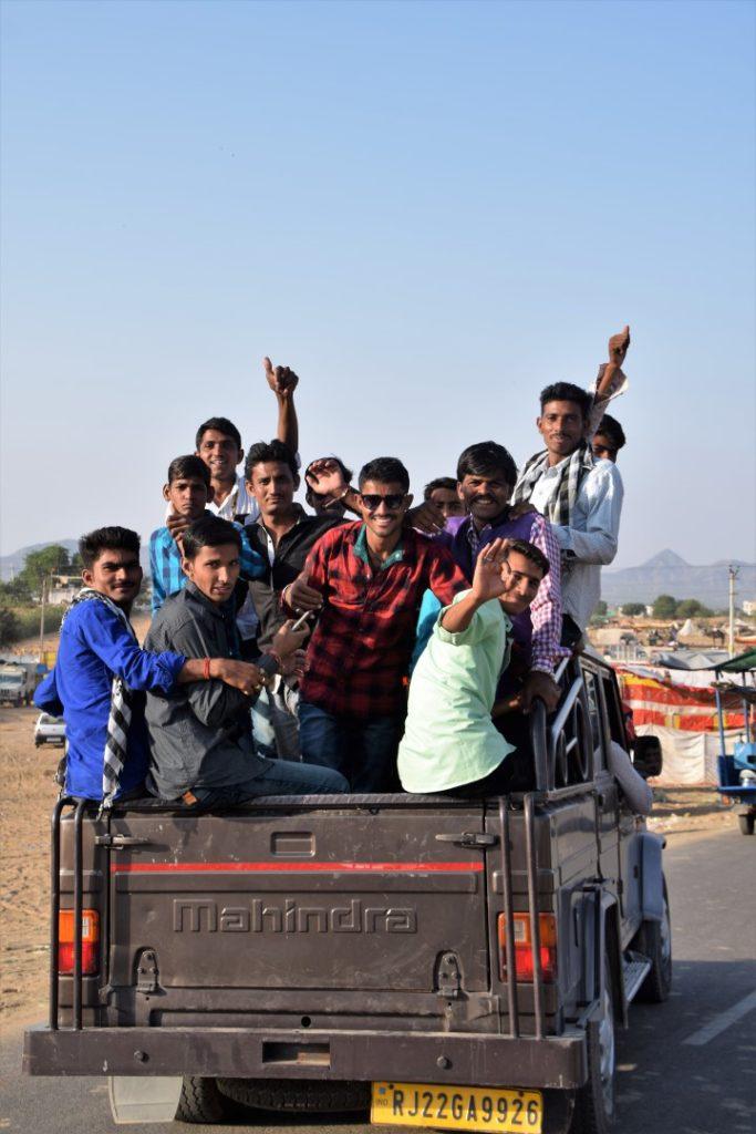 visiting Pushkar fair
