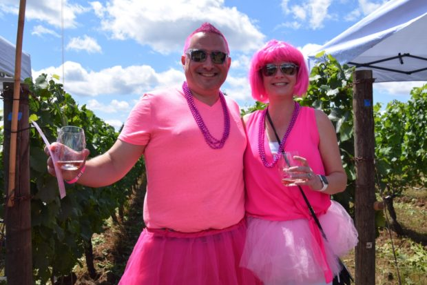 drink pink costimes
