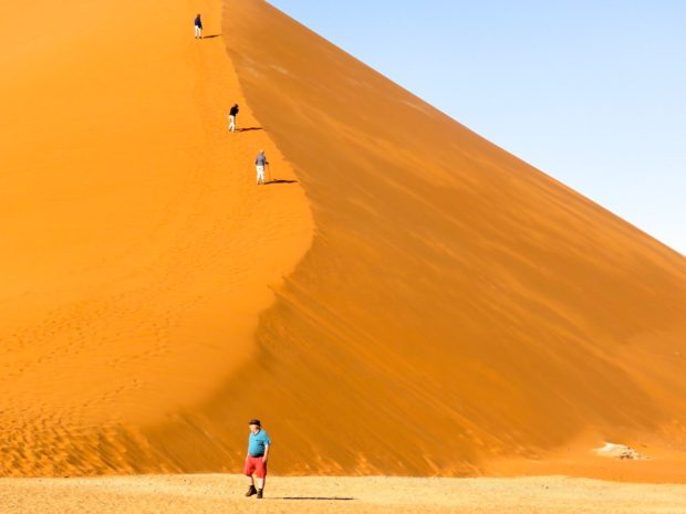 Sossusvlei Dunes Namibia road trip