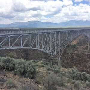 Best of Taos The Rio Grande Gorge by Janie Houston Pace