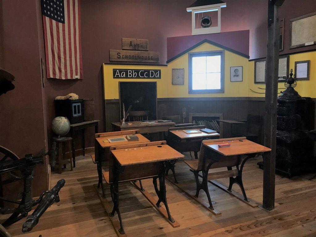 Northwest Carriage Museum school house