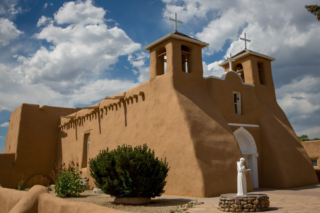 Rich Tarbell _San Francisco de Assisi Church, Taos