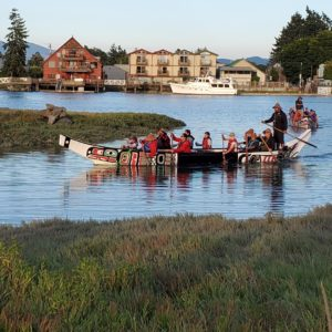 Canoe Journey to Lummi Nation