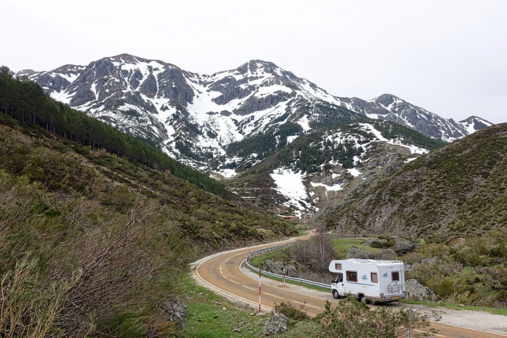 rv camping on the road