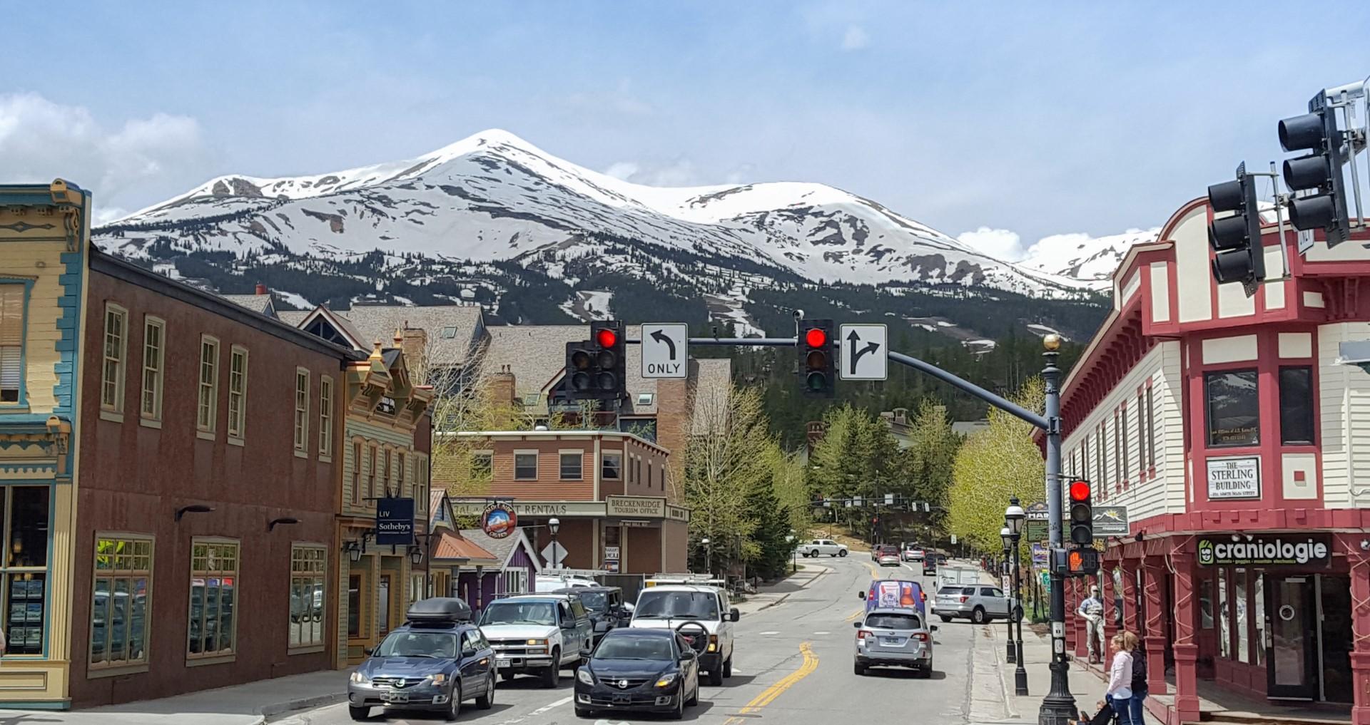 Downtown Breckenridge (Photo Tammy Powell)