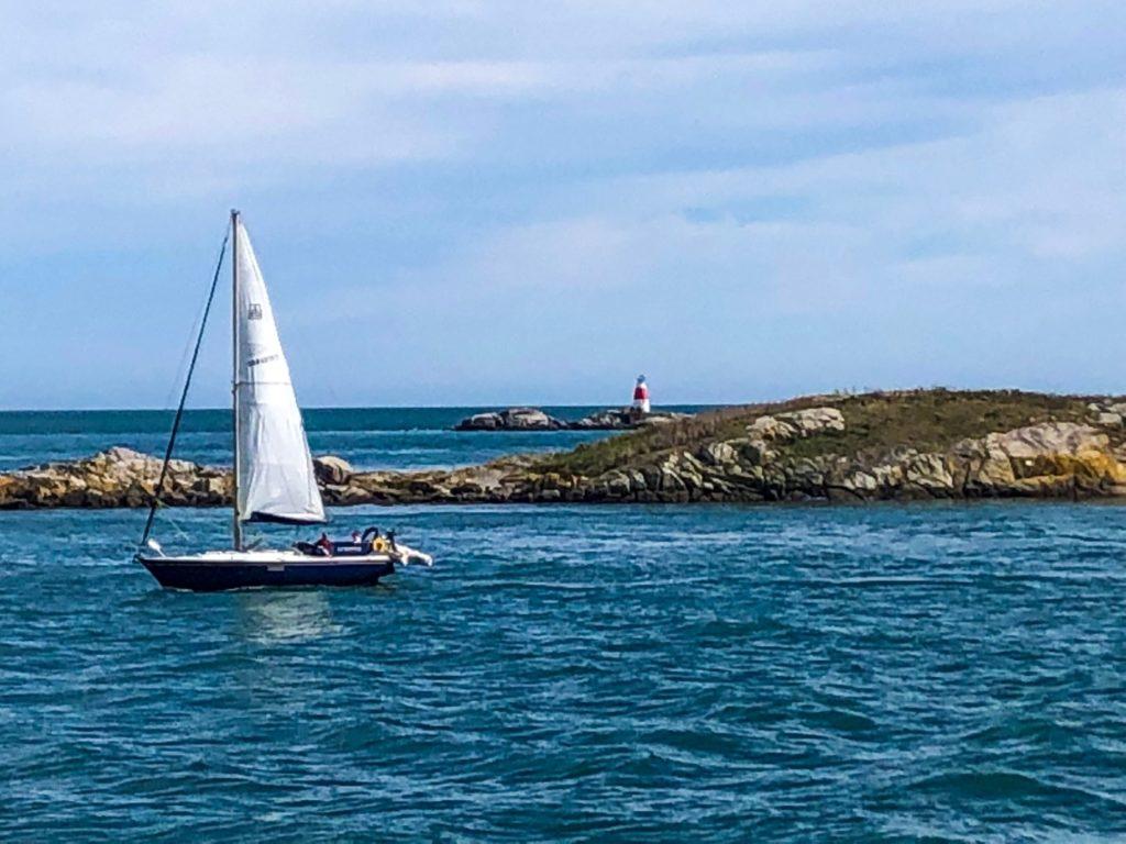 sailboat Colliemore Harbor