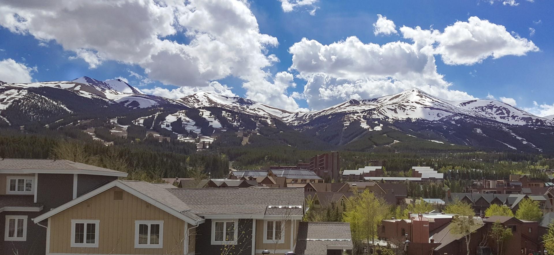 Breckenridge Colorado mountain view