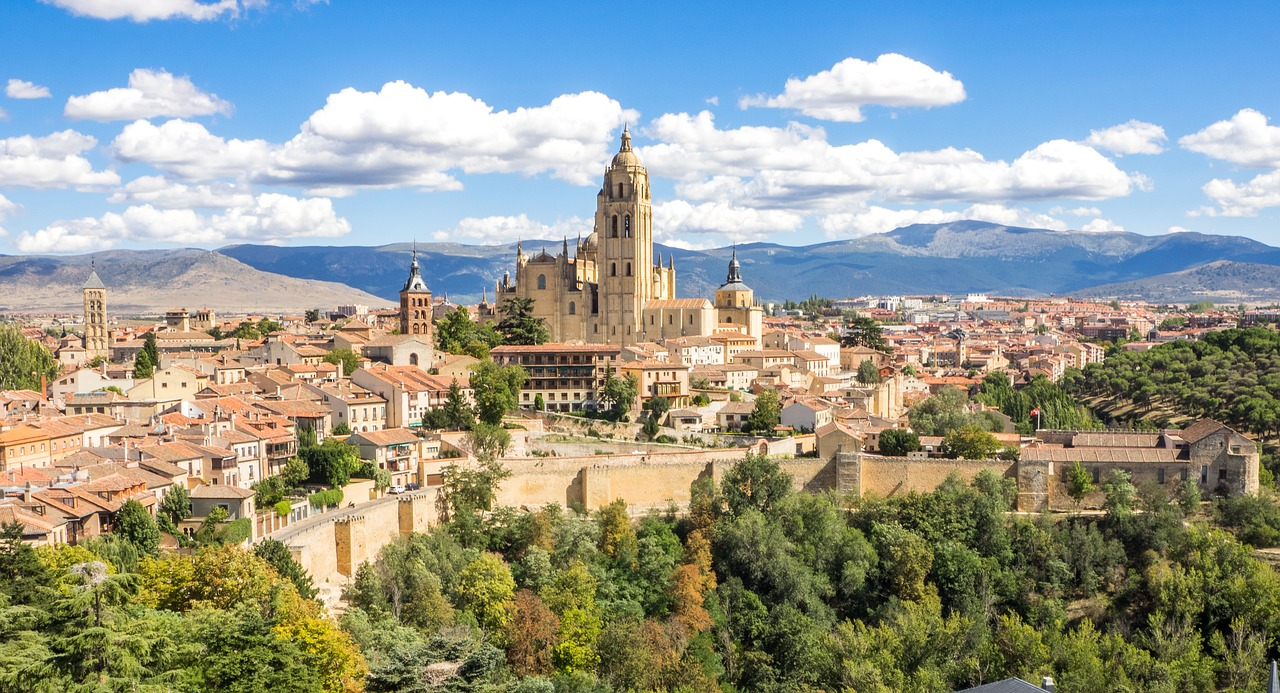 Places to visit in Spain Segovia