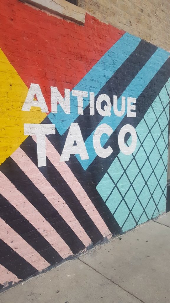Antique taco Chicago vegetarian eateries