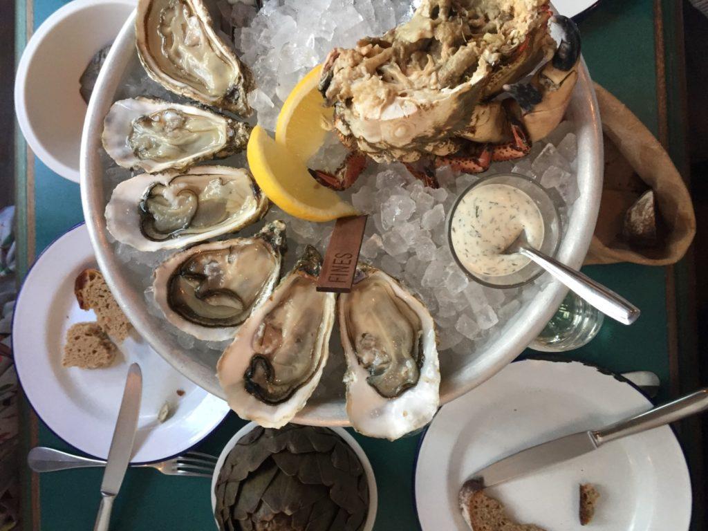 Clamato oysters in paris Eleanor Aldridge)