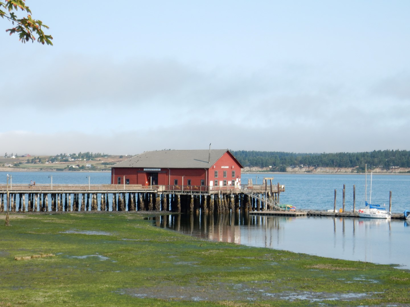 oupeville: The wharf in historic Coupeville on Whidbey Island Nancy Zaffaro