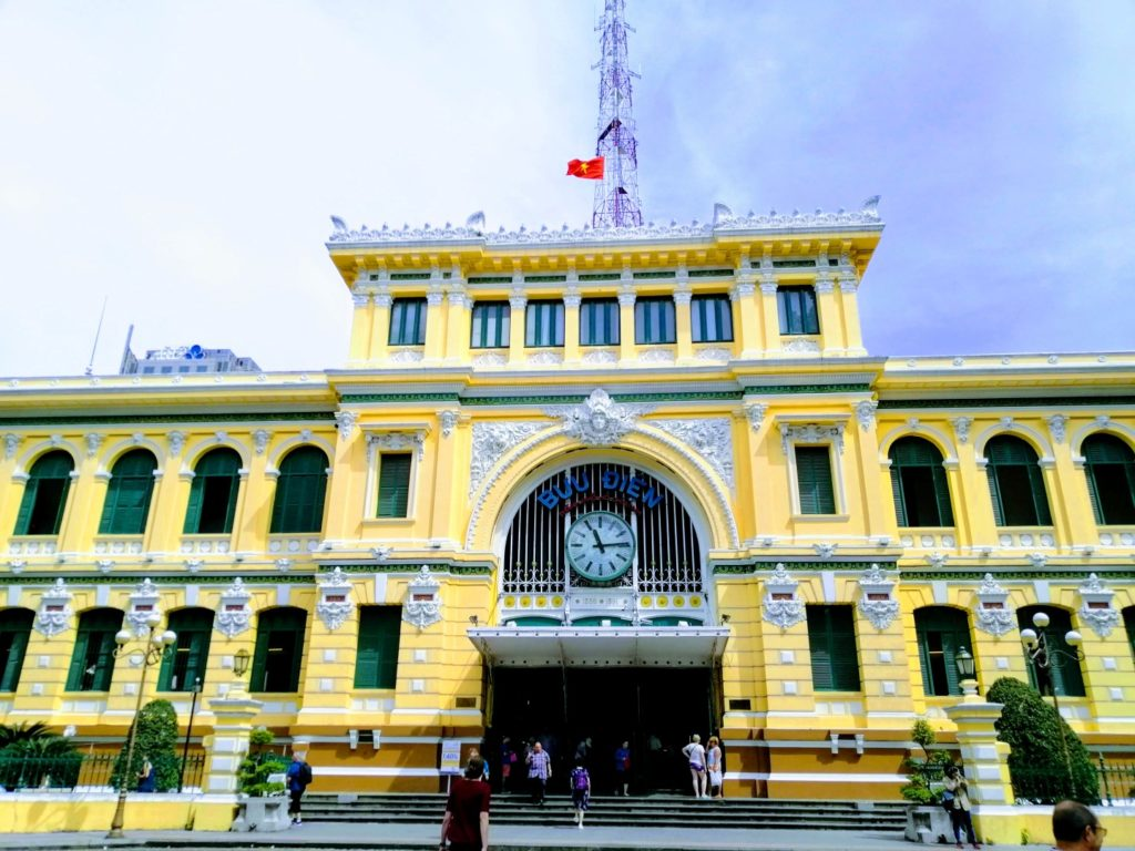 things to do in Ho Chi Mihn City Saigon Central Post Office