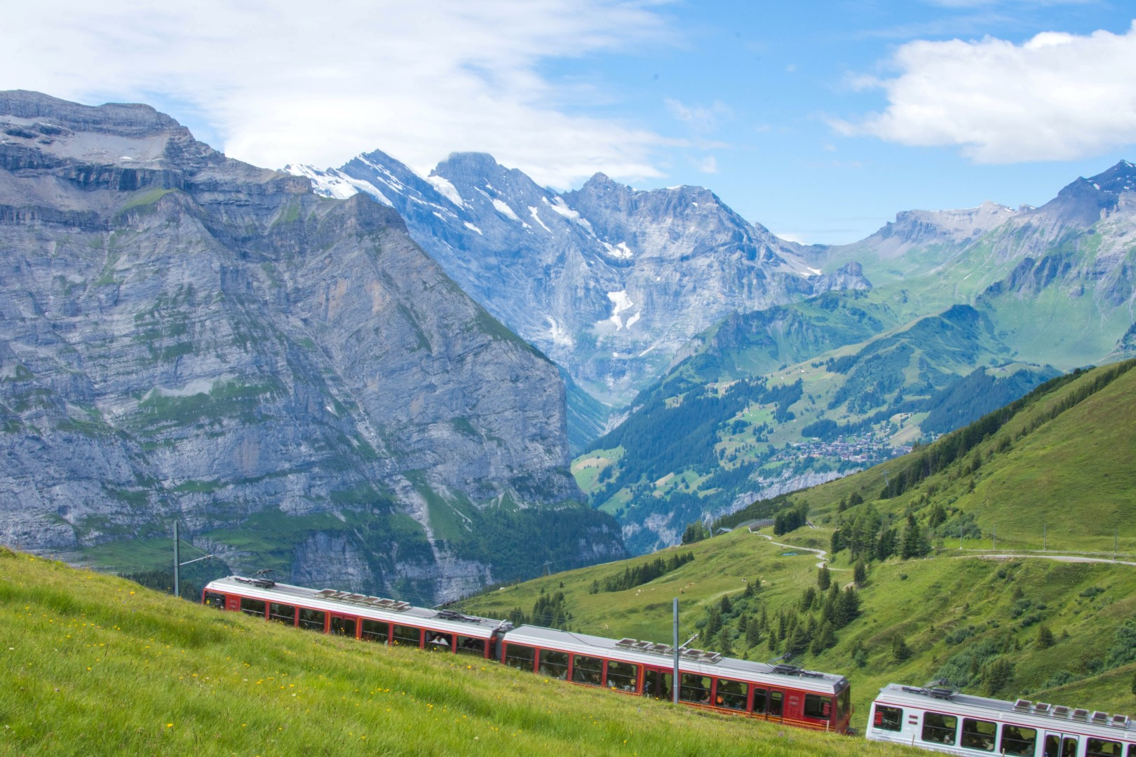 travel by train in Europe