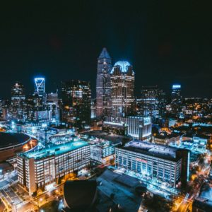 weekend in Charlotte skyline photo