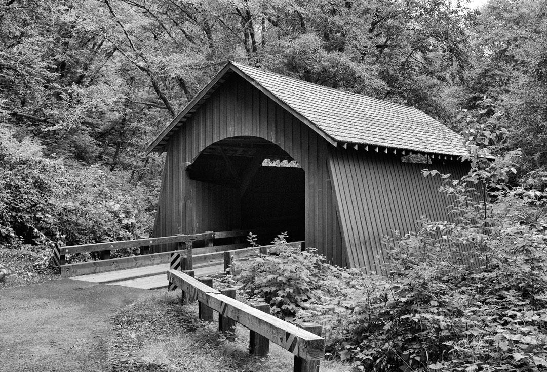 North Fork covered bridge