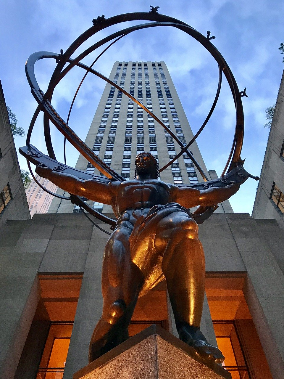 Rockefeller Center near New York's Penn Station