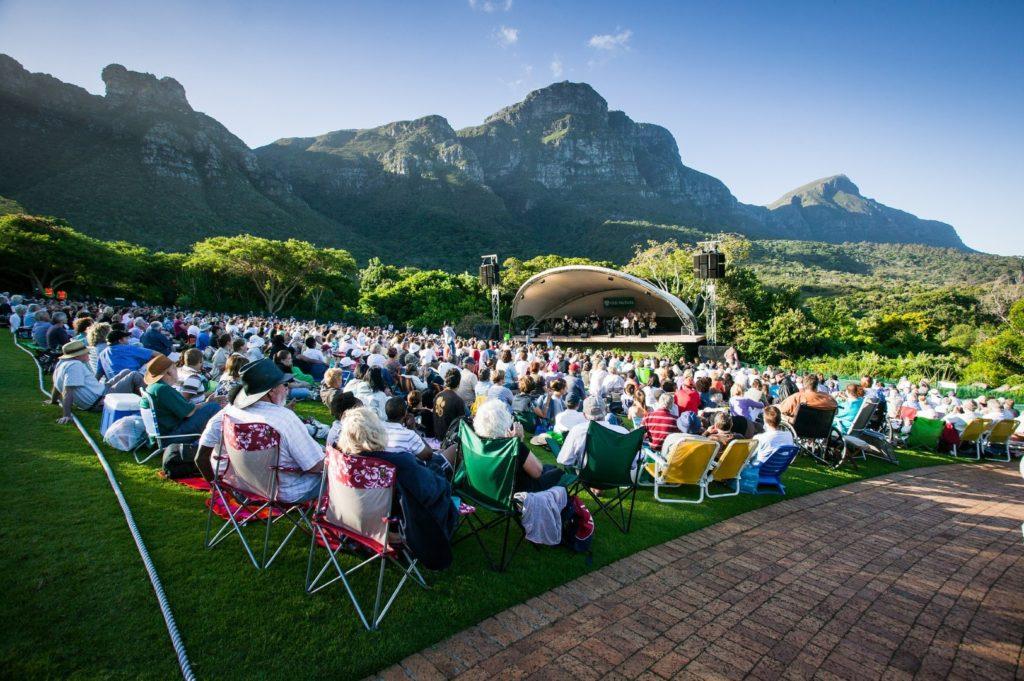 Concert at Kirstenbosch Botanical Gardens