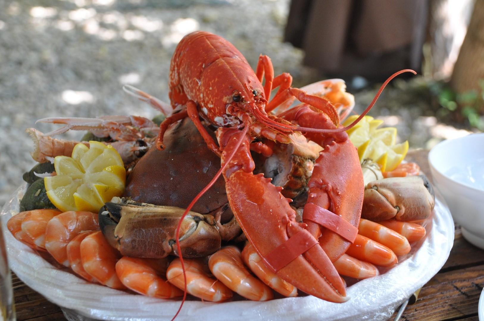 Main seafood